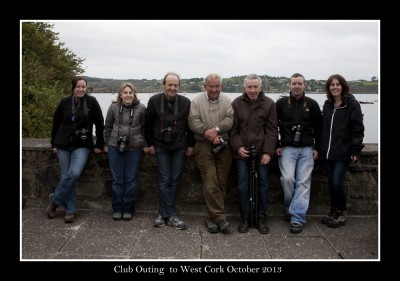 Group at The Pier, Schull, Co. Cork