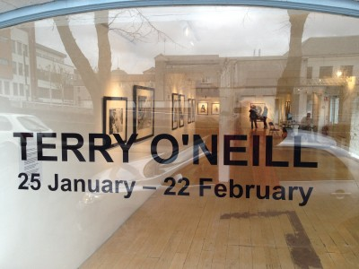 Terry O'Neill's exhibition at the Wandesford Quay Gallery, Cork