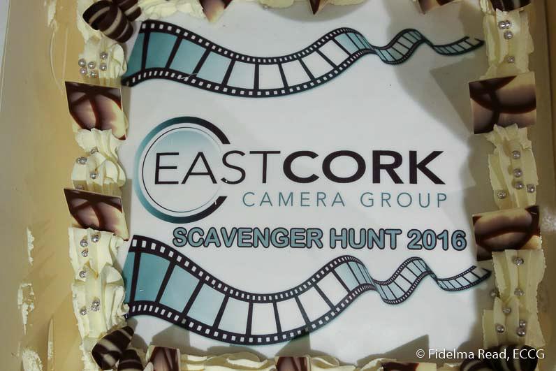 Scavenger Hunt 2016 Cake